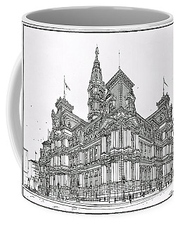 Philadelphia City Hall 1911 Coffee Mug