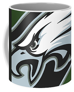 Philadelphia Eagles Football Coffee Mug by Tony Rubino