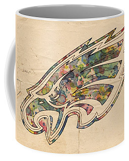 Philadelphia Eagles Poster Vintage Coffee Mug