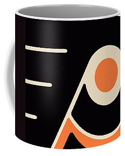 Philadelphia Flyers Coffee Mug by Tony Rubino