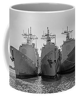 Philadelphia Navy Yard B - W  Coffee Mug