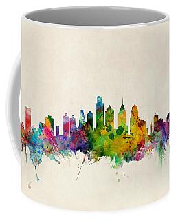 Philadelphia Skyline Coffee Mugs