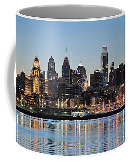 Philly Sunset Coffee Mug