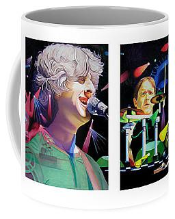 Phish Full Band Coffee Mug by Joshua Morton
