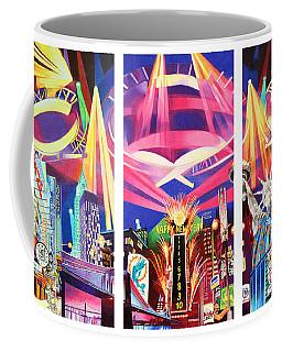 Phish New York For New Years Triptych Coffee Mug by Joshua Morton