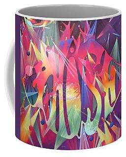 Phish The Mother Ship Coffee Mug by Joshua Morton