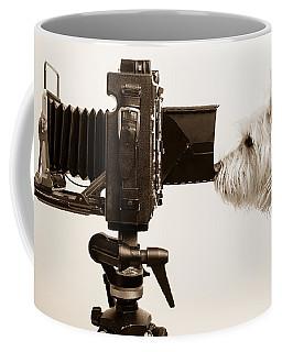 Pho Dog Grapher Coffee Mug by Edward Fielding