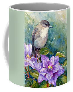 Phoebe And Clematis Coffee Mug