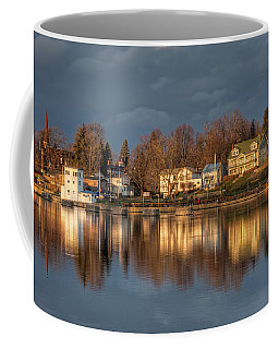 Reflection Of A Village - Phoenix Ny Coffee Mug by Everet Regal