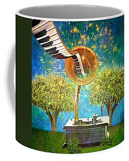 Phonograph Magic Coffee Mug by Ally  White