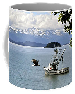 Photo Bomb Coffee Mug by Cathy Mahnke