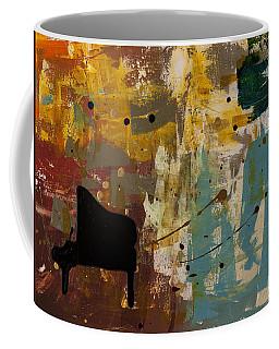Piano Concerto Coffee Mug by Carmen Guedez