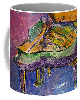 Piano Purple Coffee Mug