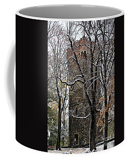 Piastowska Tower In Cieszyn Coffee Mug by Mariola Bitner