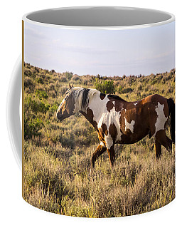 Picasso - King Of Sand Wash Basin Coffee Mug by Nadja Rider