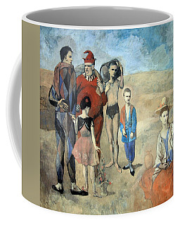 Picasso's Family Of Saltimbanques Coffee Mug by Cora Wandel