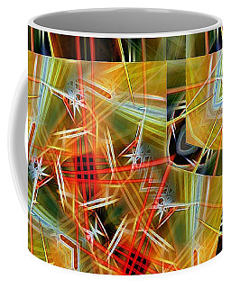 Pick Up Sticks In Geometry Coffee Mug