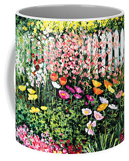 Pickets N' Poppies Coffee Mug