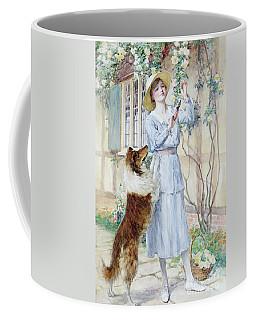 Picking Roses Coffee Mug