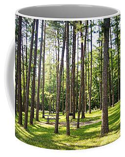 Picnic In The Pines Coffee Mug
