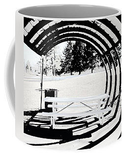 Picnic Table And Gazebo Coffee Mug