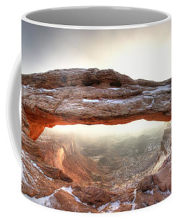 Coffee Mug featuring the photograph Picture Window by David Andersen