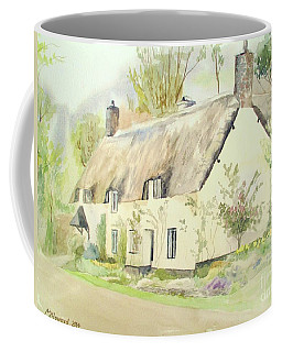 Picturesque Dunster Cottage Coffee Mug