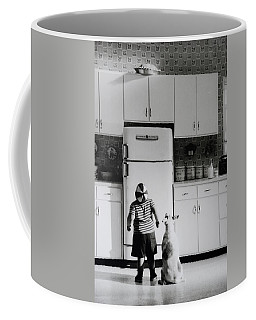 Pie In The Sky In Black And White Coffee Mug