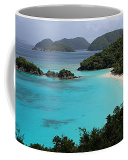 Piece Of Paradise Coffee Mug by Fiona Kennard
