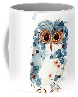 Pier 1 Owl Coffee Mug