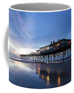 Pier At Twilight Coffee Mug