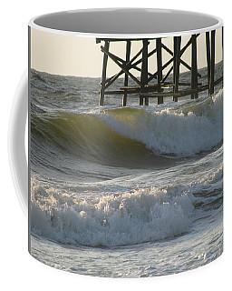 Pier Pressure Coffee Mug by Ellen Meakin