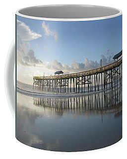Pier Reflection Coffee Mug