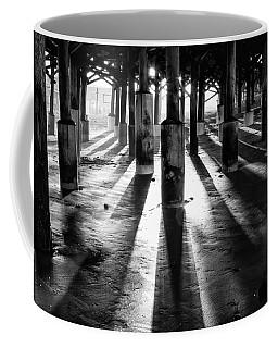 Pier Shadows Coffee Mug