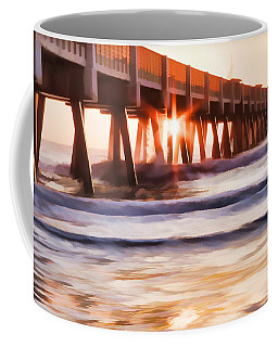 Pier Sunrise Too Coffee Mug