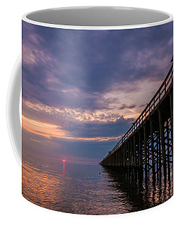 Pier To The Horizon Coffee Mug