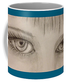 Piercing Eyes Coffee Mug