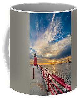 Pierhead October Sky Coffee Mug
