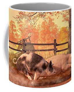 Pig Race Coffee Mug