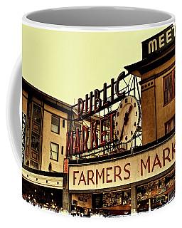 Pike Place Market - Seattle Washington Coffee Mug