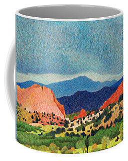 Garden Of The Gods Pikes Peak Coffee Mug