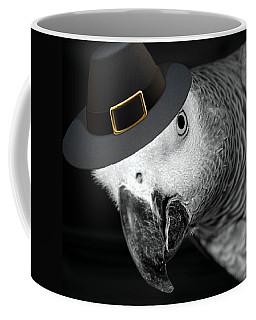 Pilgrim Parrot Coffee Mug by Mim White