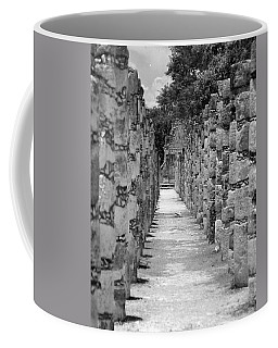 Coffee Mug featuring the digital art Pillars In A Row by Kirt Tisdale
