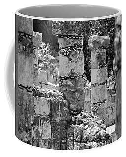 Coffee Mug featuring the photograph Pillars In Disarray by Kirt Tisdale
