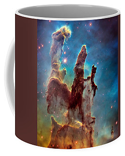 Pillars Of Creation In High Definition Cropped Coffee Mug