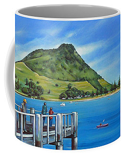Pilot Bay Mt Maunganui 201214 Coffee Mug by Selena Boron