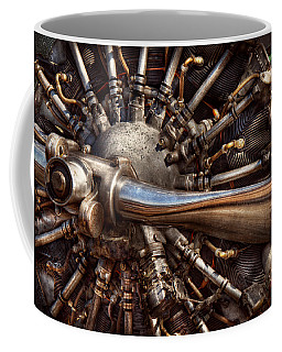 Pilot - Plane - Engines At The Ready  Coffee Mug by Mike Savad