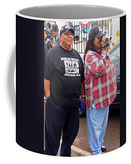 Pima Indians Watching Parade Sacaton Arizona 2005 Coffee Mug