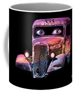 Coffee Mug featuring the photograph Pin Up Cars - #3 by Gunter Nezhoda