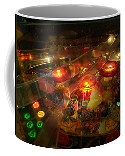 Pinball IIi Coffee Mug by Lanita Williams